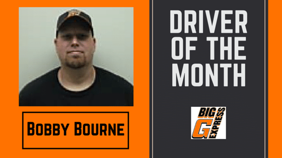 March Driver of the Month-Bobby Bourne