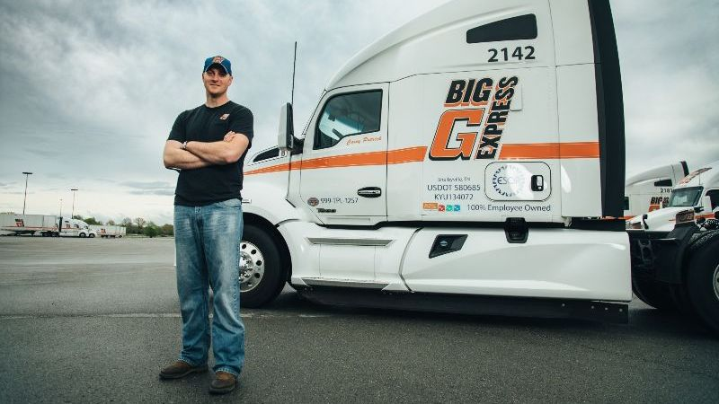 industry leading benefits package, big g express