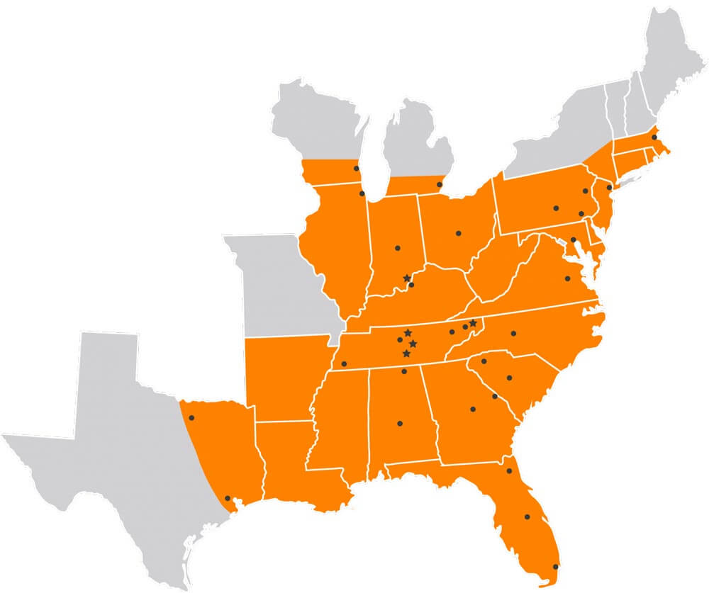 hiring area map, big g, drive for us