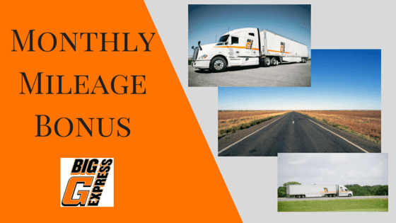 September Mileage Bonus Results